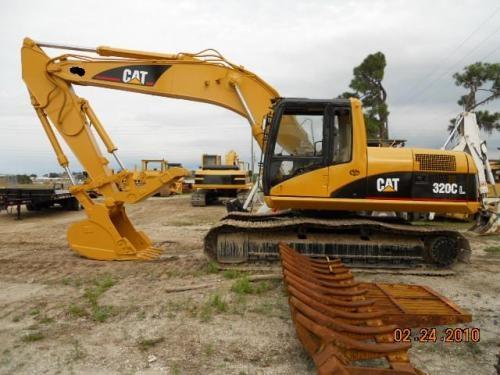 Fotos de Maquinaria pesada-excavadora cat 320 cl,2001 1