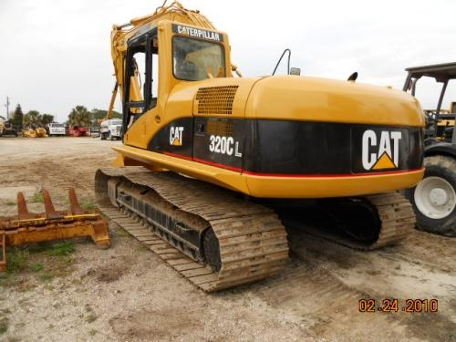 Fotos de Maquinaria pesada-excavadora cat 320 cl,2001 2