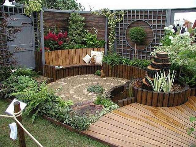 fotos de diseño de jardines, pergolas y decks y ma en san salvador
