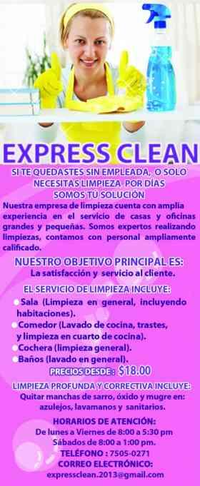 Express clean servicios de limpieza en casas apartamentos - Limpiezas de casas ...