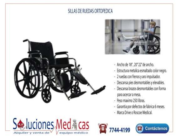 silla de ruedas renta