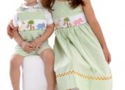 Vestidos de niña bordados a mano