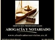 Servicios de Abogados/Notarios en El Salvador.