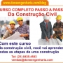 Curso de Construção Civil Completo Passo a Passo em DVDs
