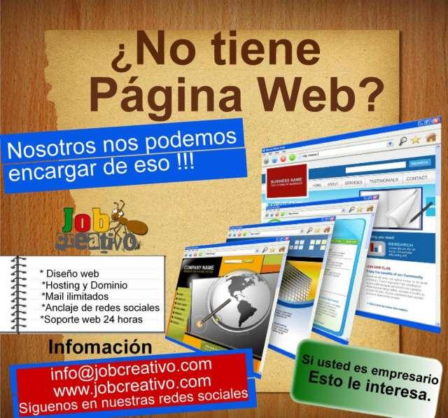 Pagina web hasta el 50 % solo el mes de enero 2013