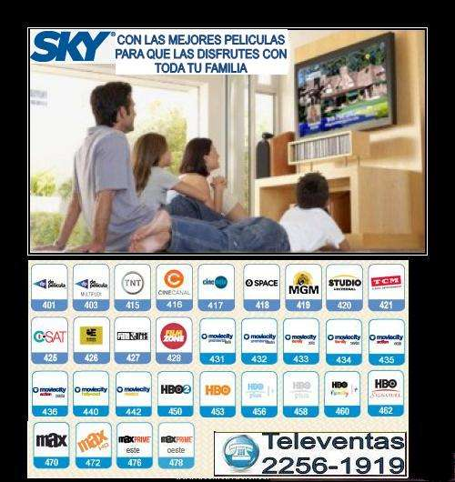 Tv sky, teléfono 2256-1919 web www.distribuidor.com.sv
