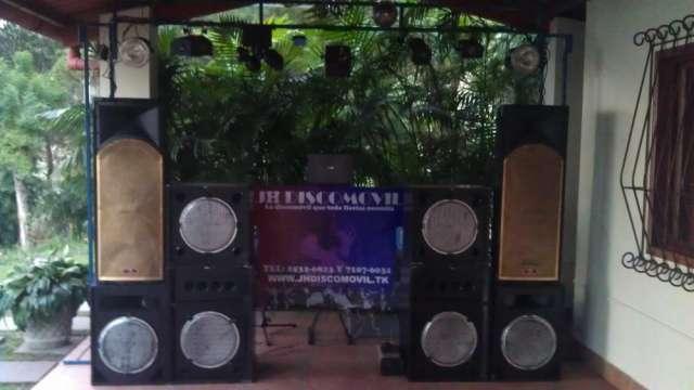 Discomovil para fiestas, sonido publicitario