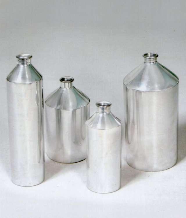 Venta deenvases de aluminio para almacenar esencias
