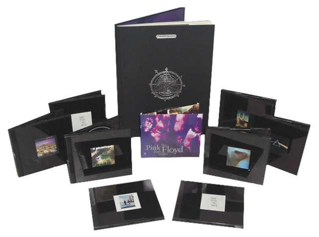 Pink floyd coleccion shine on cds, libro, etc.