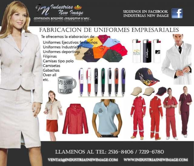 Confeccion y uniformes empresariles, camisas tipo polo