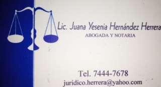 Despacho jurídico y tramitaciones herrera