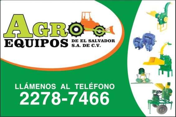 Equipos agricolas y mas!!