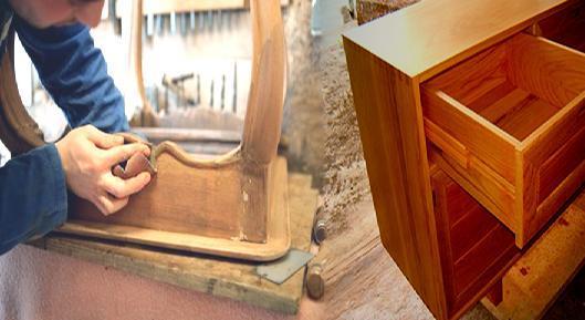 Restauracion de muebles y estructuras de madera