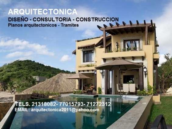 Servicios profesionales de arquitectura y construccion