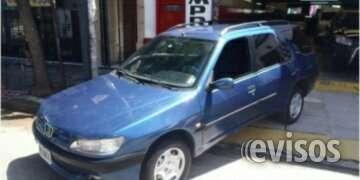 Peugeot 306xr camioneta año 2000 agencia