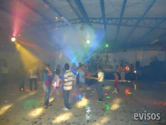 Show de luces leed y multi color