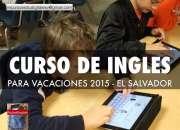 CURSO DE INGLES DE REGRESO A CLASES EN EL SALVADOR