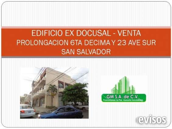 Edificio ex docusal en venta
