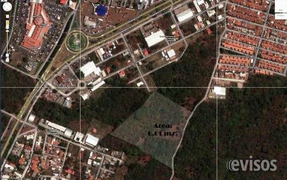 Terreno urbano de 6 manzanas con excelente ubicación zona metrocentro santa ana