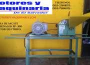 Picadoras de zacate. motores y maquinaria