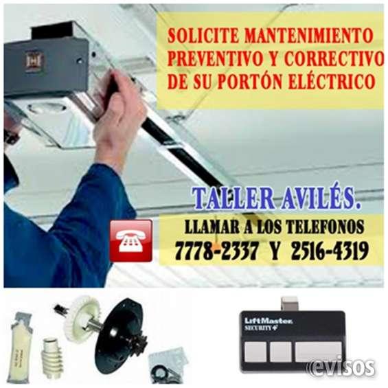 Servicio en reparaciones a portones electricos