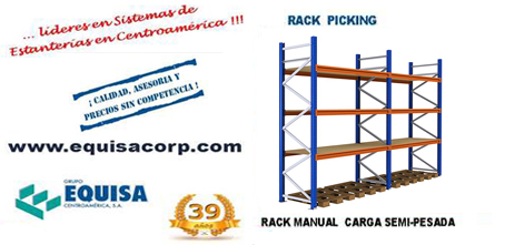 Rack manual tipo picking