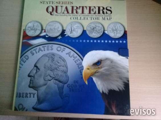 Venta de atractivos mapas de colleccion de monedas.