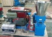 Peletizadora Meelko 230 mm 22 hp DIESEL para concentrados