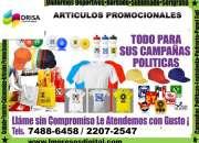 Articulos promocionales y mas..