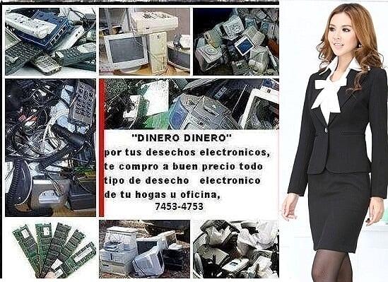 Compramos desecho electrónico y electico
