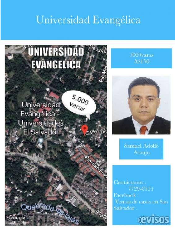 Terreno por universidad evangélica