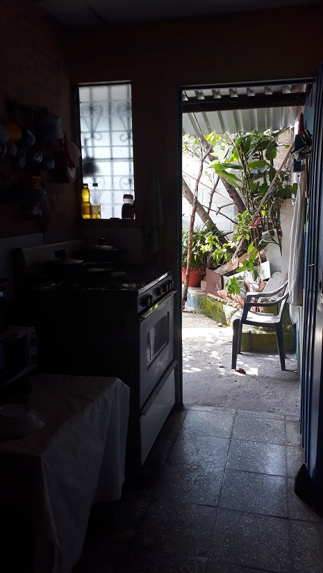 Pasillo hacia el patio