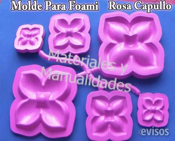 Compro moldes para foami para flores