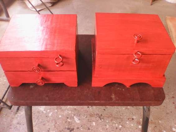 Cofrecitos de madera