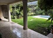 Alquilo casa colonia escalon parte alta, residencial privado, amueblada o sin muebles, esp