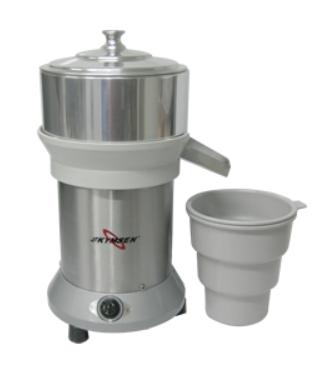 Extractor de citricos camara de jugo de aluminio