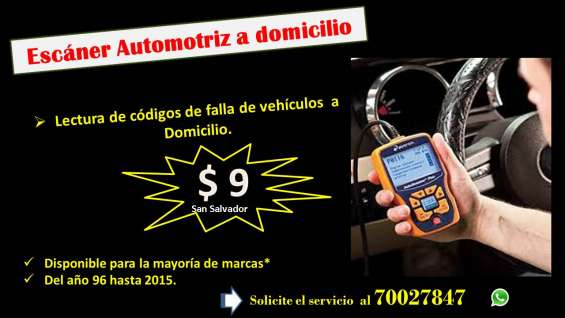 Diagnostico electronico a domicilio