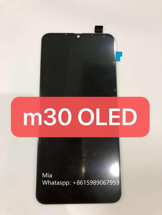 Repuesto para celulares pantalla lcd samsung m30 oled fabrica