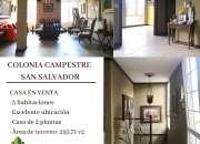 CASA EN VENTA COLONIA CAMPESTRE, ESCALON