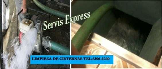 Limpieza profunda de cisternas y tanques de agua