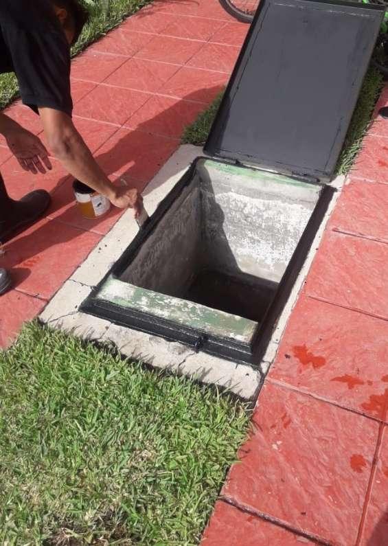 Limpieza y desinfeccion de cisternas