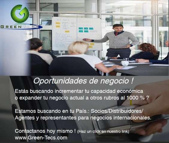 Oportunidades de negocio - rubro internacional